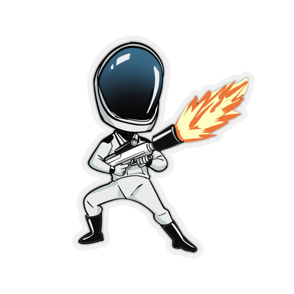 Hot Starman Sticker