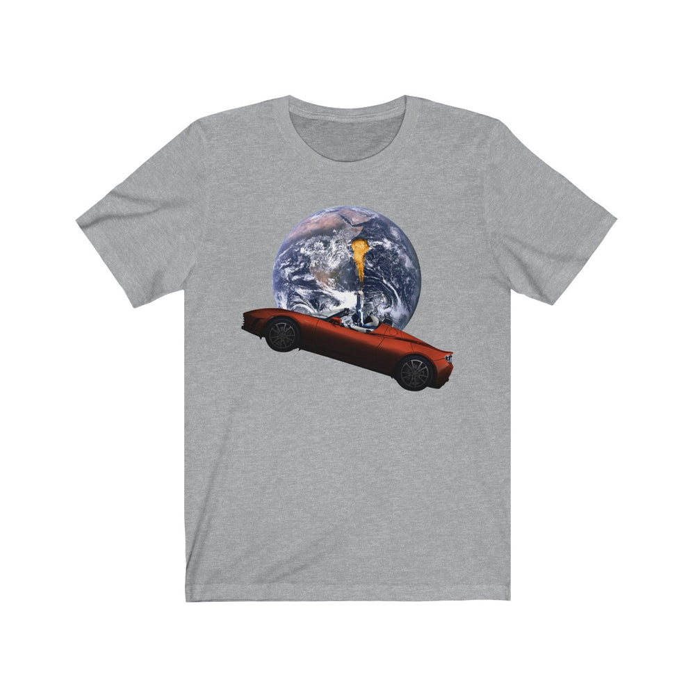 Starman on fire no. 2 T-Shirt - SpaceX Fanstore