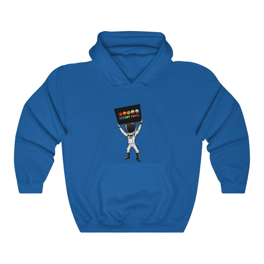 Starman Occupy Mars Hoodie - SpaceX Fanstore