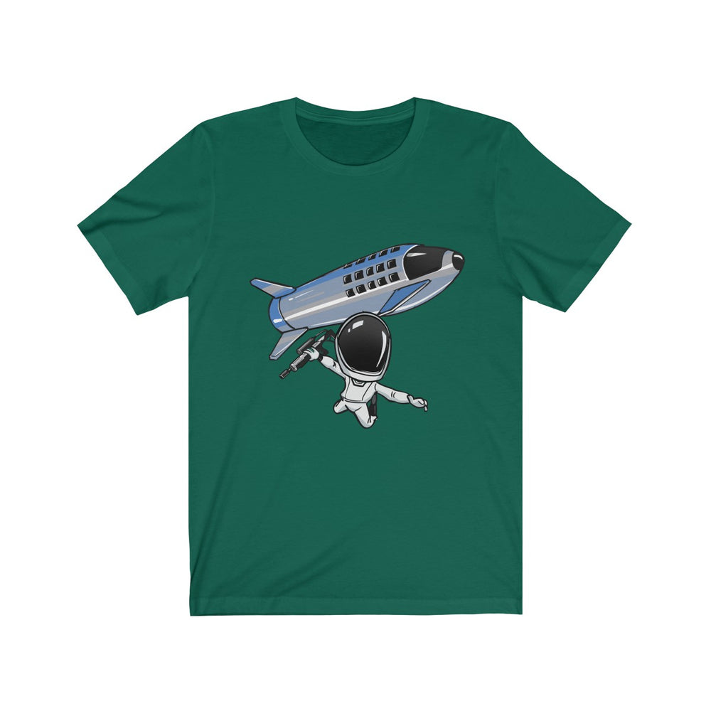 Skydiving Starman T-shirt - SpaceX Fanstore