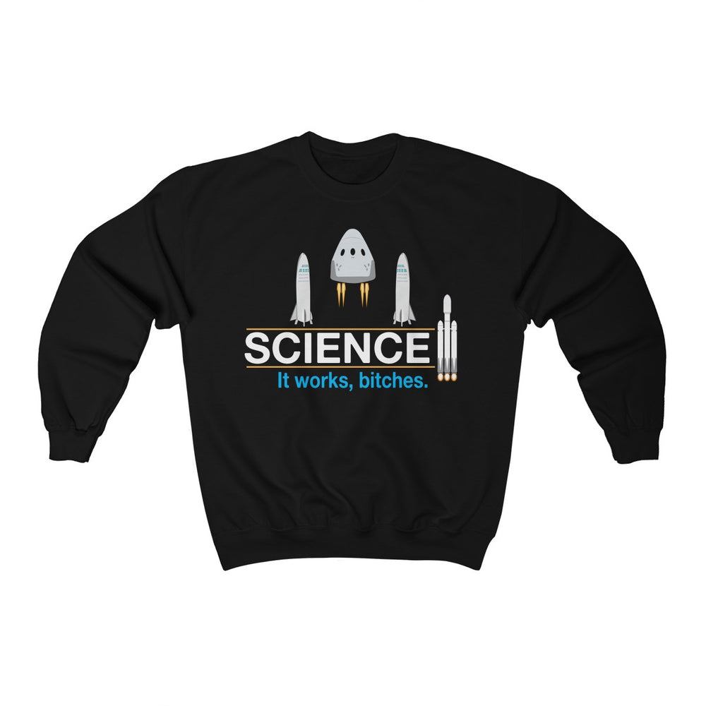Science Sweatshirt - SpaceX Fanstore