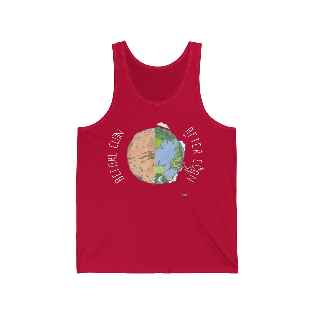 After Elon Tank top - SpaceX Fanstore