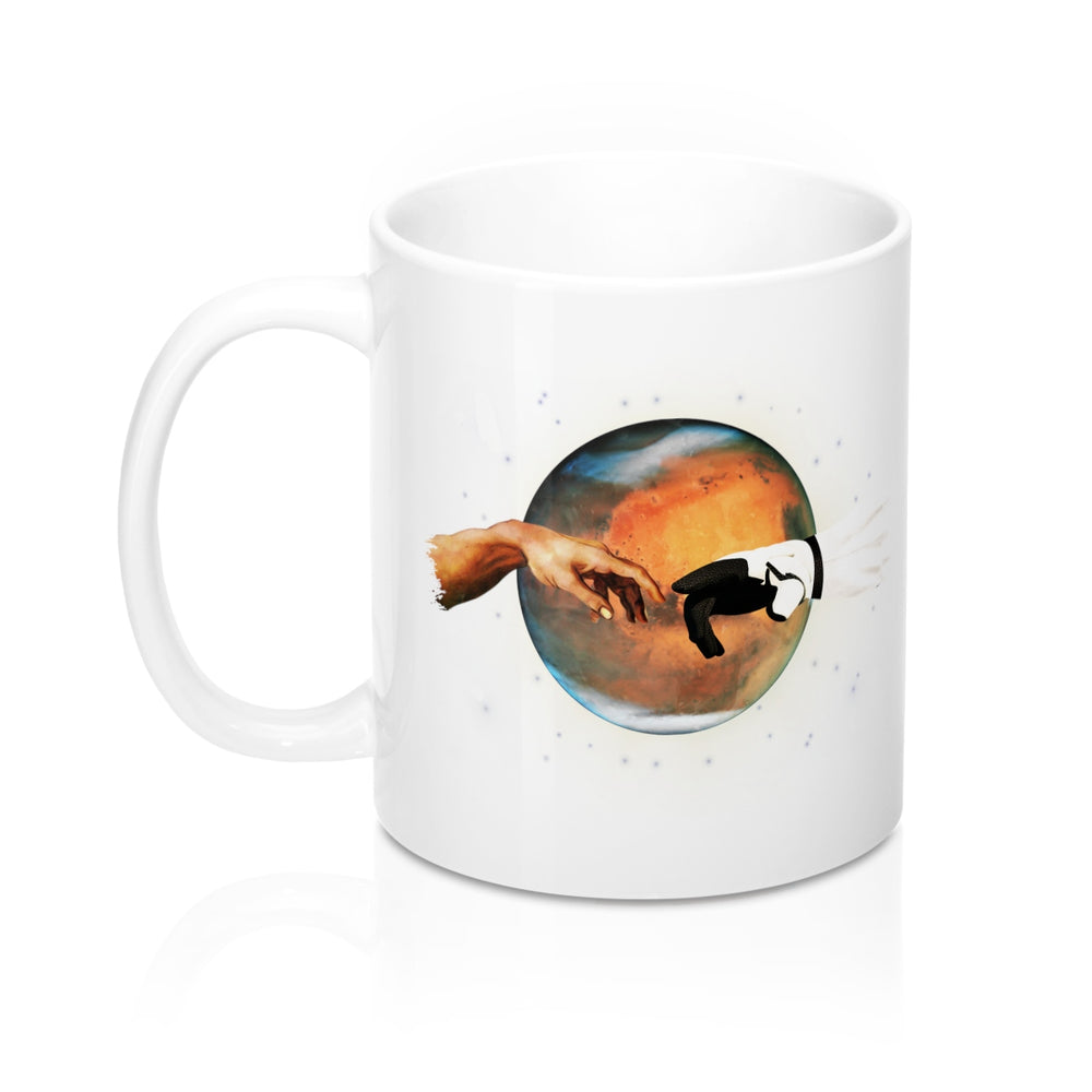 Touch of a Martian Mug - SpaceX Fanstore