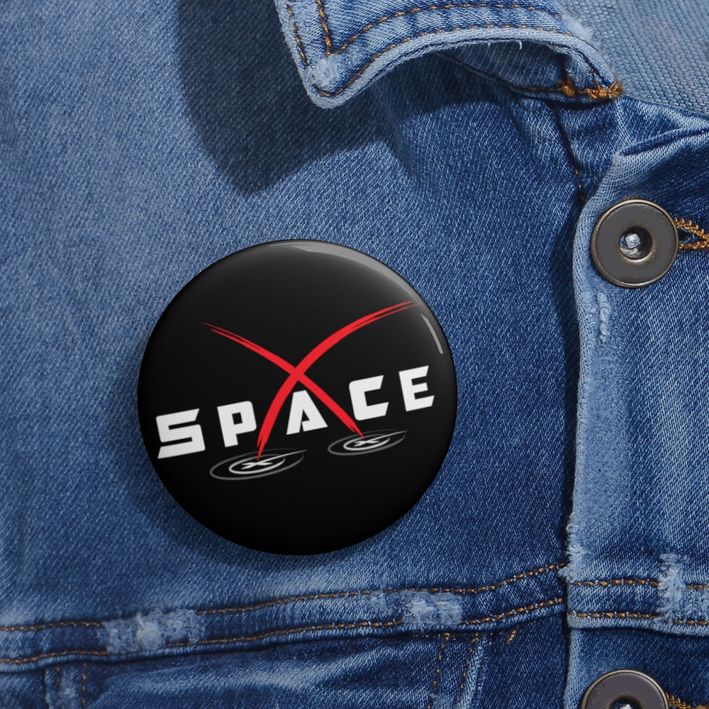 Space Button - SpaceX Fanstore