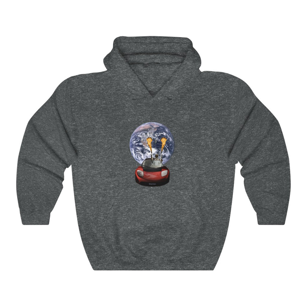Starman on Fire Hoodie - SpaceX Fanstore