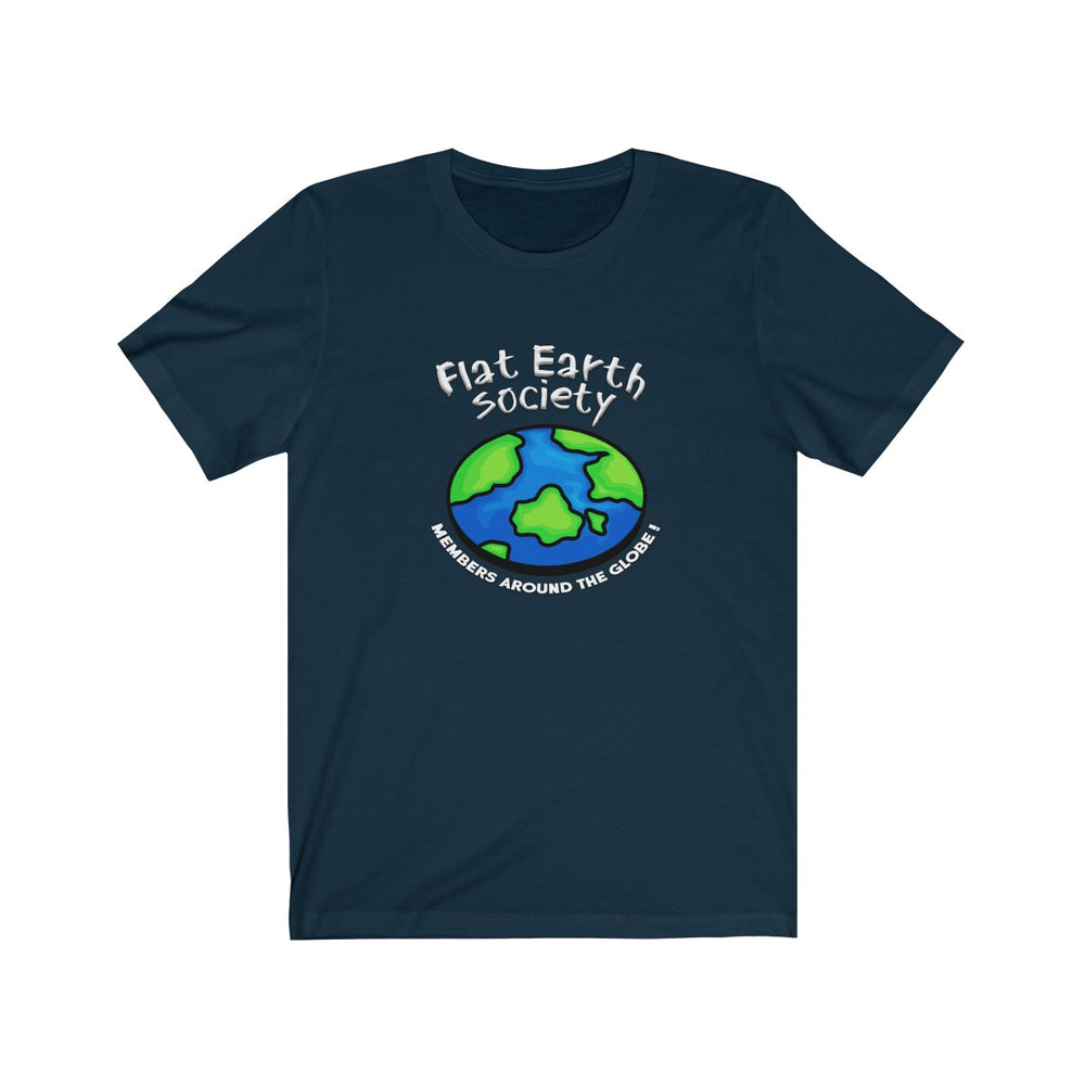 Flat Earth T-Shirt - SpaceX Fanstore