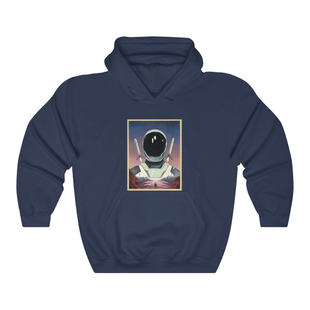 Starman and Boosters Hoodie - SpaceX Fanstore