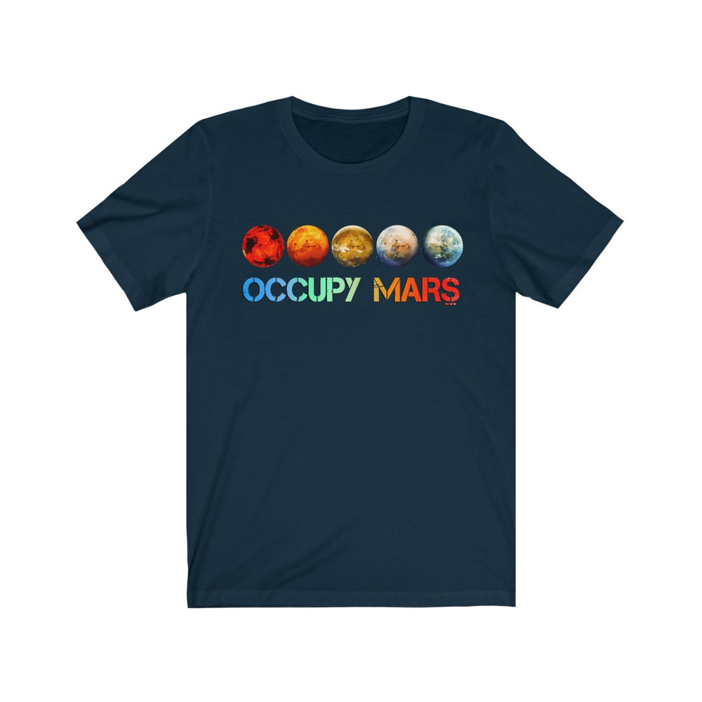 Occupy Mars T-Shirt - SpaceX Fanstore