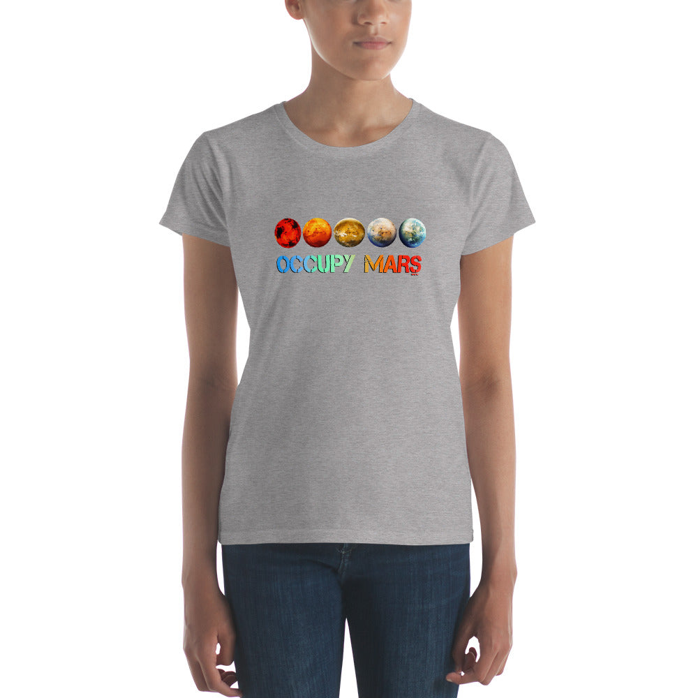 Women's Occupy Mars t-shirt - SpaceX Fanstore