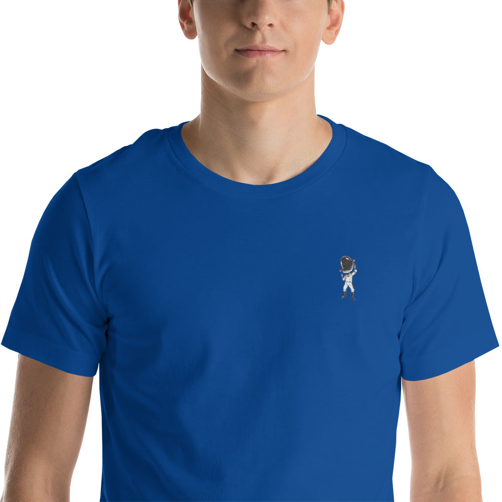 Celebrating Starman Embroidered T-Shirt