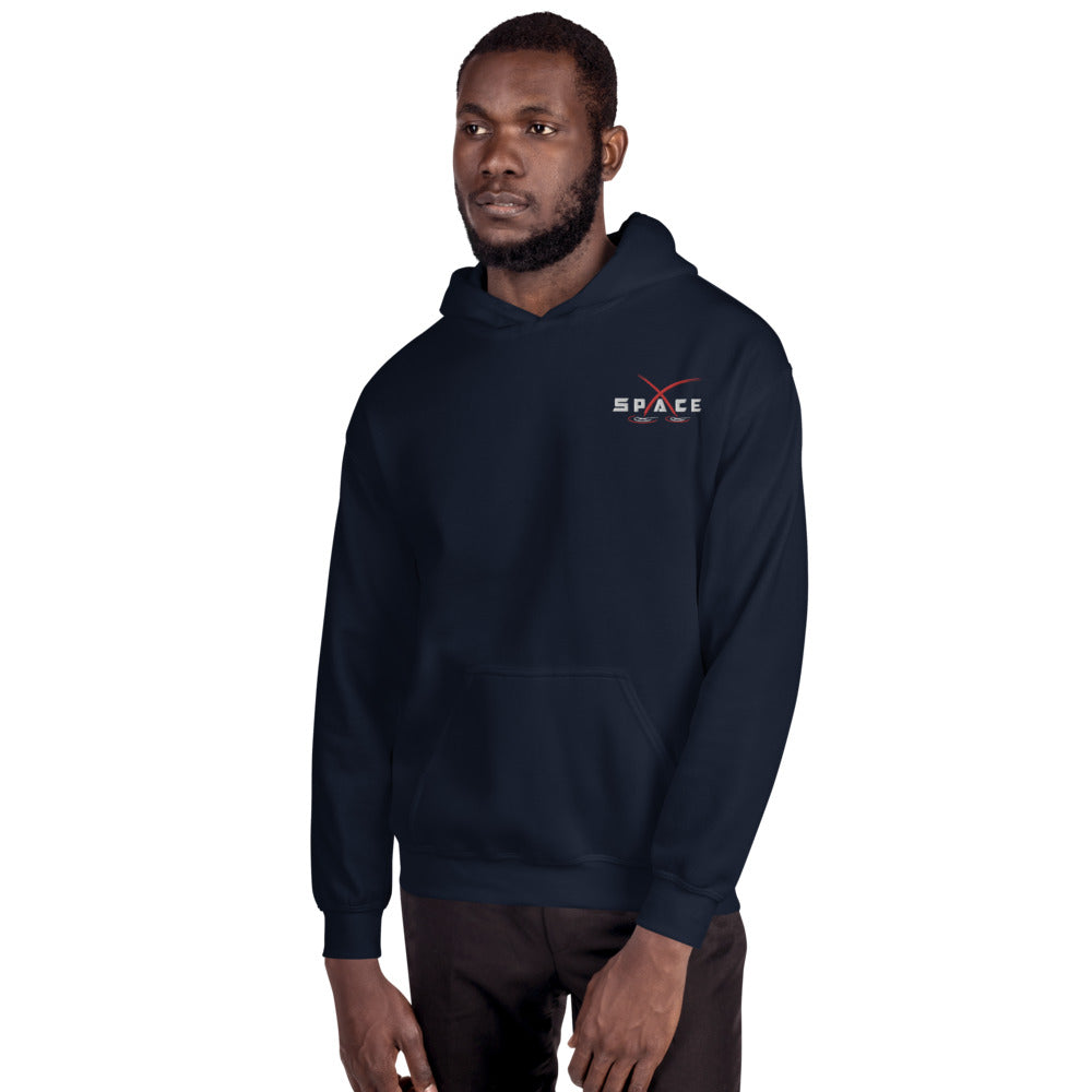 Space Embroidered Hoodie - SpaceX Fanstore