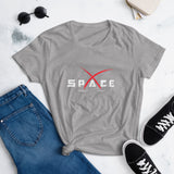 Women's Space t-shirt - SpaceX Fanstore