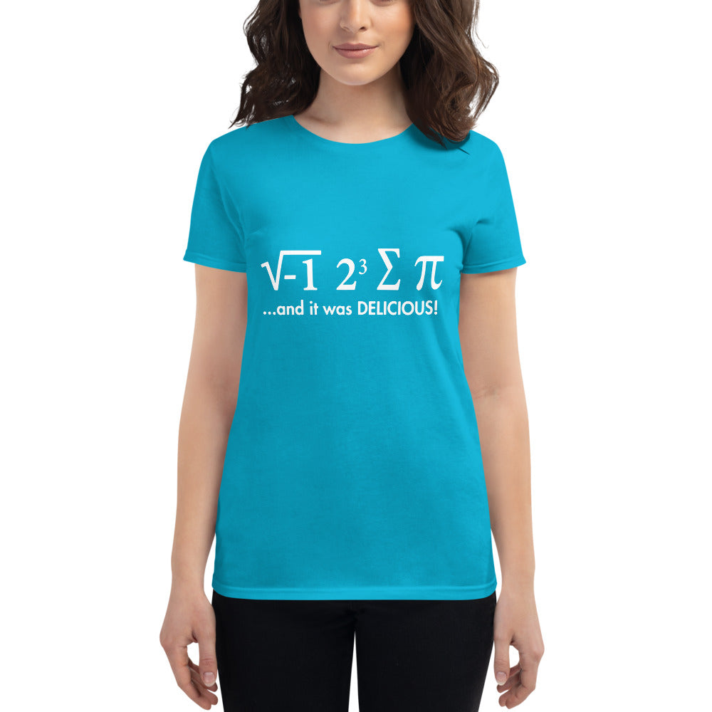 Women's Eating Pi t-shirt - SpaceX Fanstore