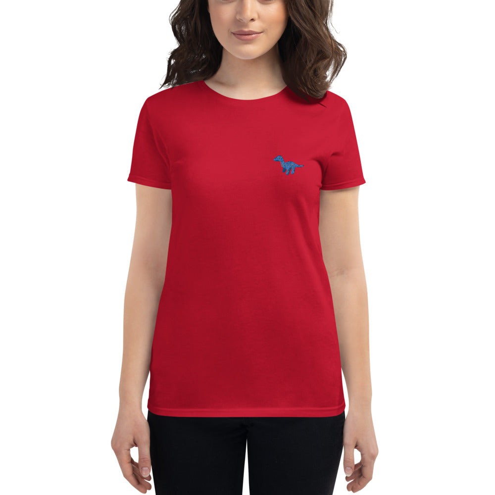 Embroidered Women's Zero Gravity Indicator t-shirt - SpaceX Fanstore