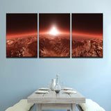 Martian Sunrise Canvas
