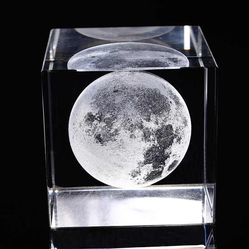 Laser Engraved Moon
