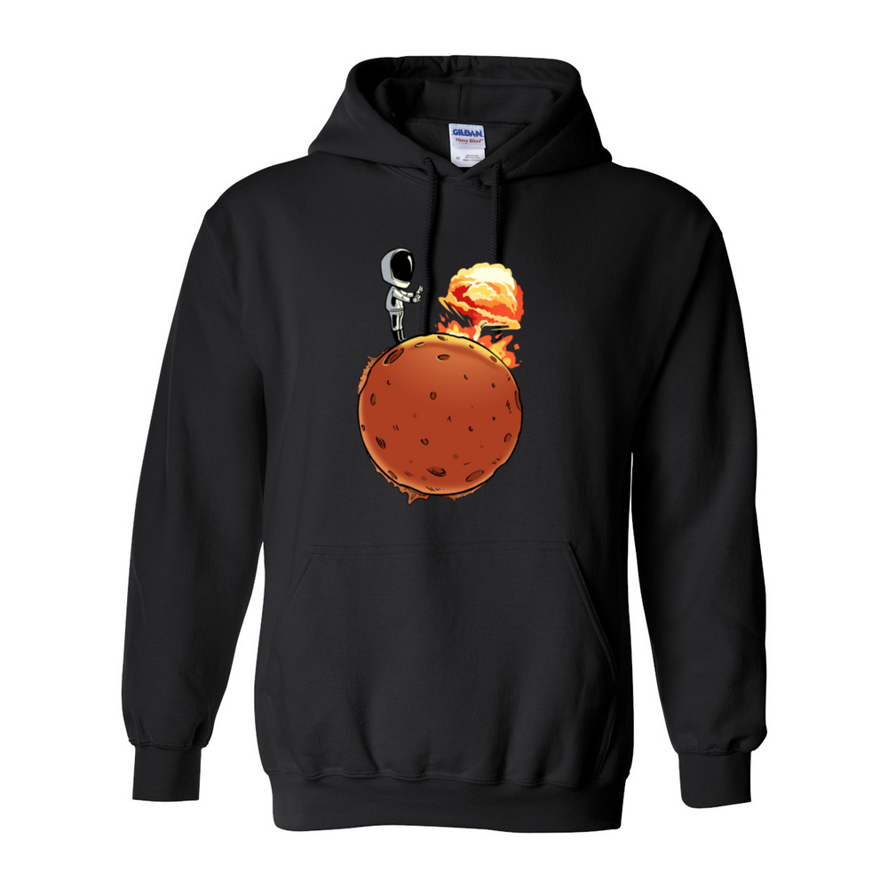 Starman Nuking Mars Hoodie Replacement - SpaceX Fanstore