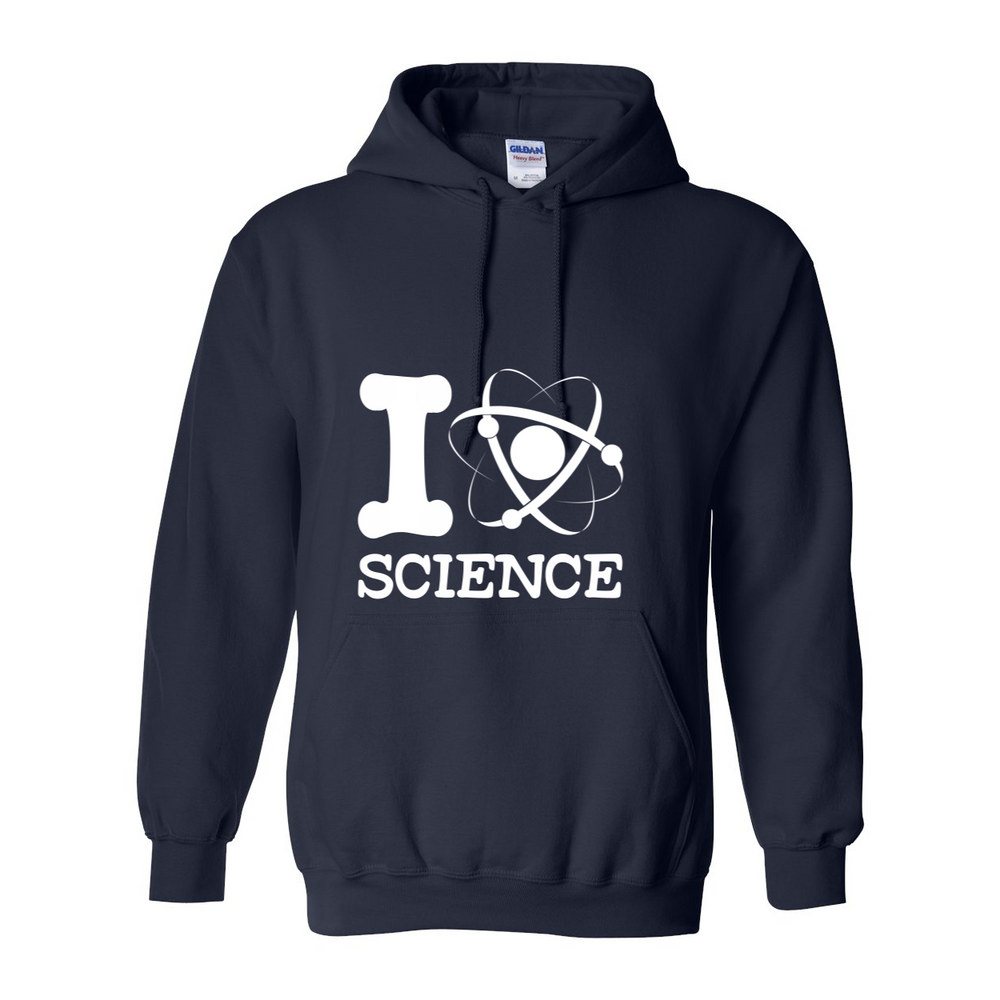 I Love Science Hoodie Replacement - SpaceX Fanstore