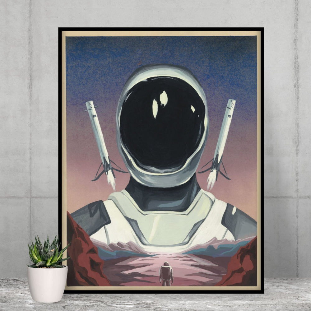 The Starman Poster - SpaceX Fanstore