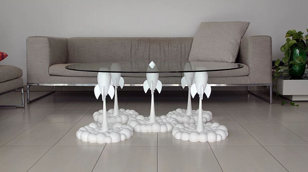 Rocket Table Pure White