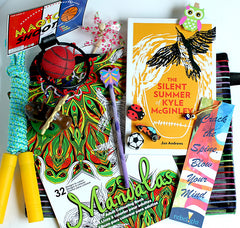 Rebelight's Summer Reading Challenge sample prize pack