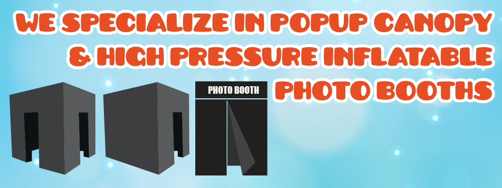 Tent Share Inc Photobooth Inflatable Banner