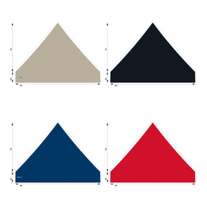 10x10 Foot Topper 500D Solid Colour