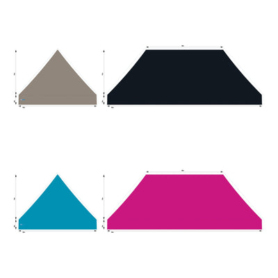 10x20 Foot Topper PVC Solid Colour