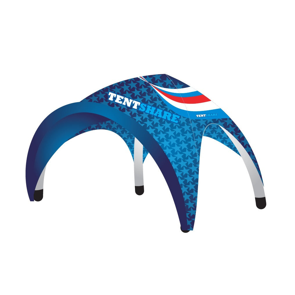 Inflatable Arch Dome Canopy 16x16 Foot