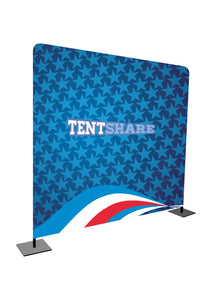Promotional Fabric Media Wall 8x8
