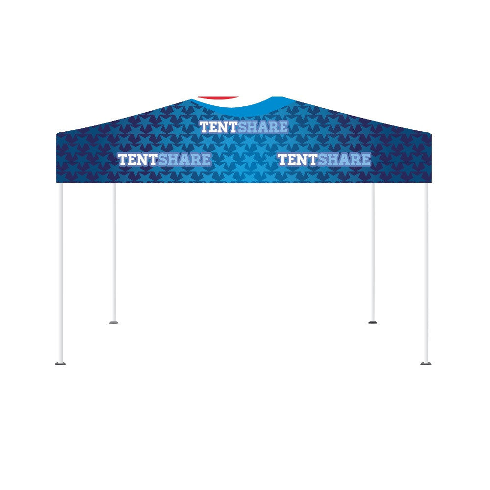 Popup Tent 10x15 Foot Custom Canopy Builder