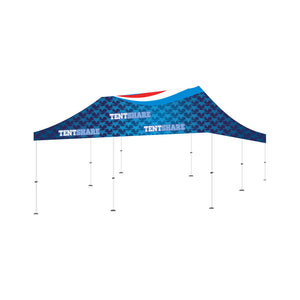 Popup Tent 20x20 Foot Custom Canopy Builder