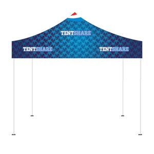Popup Tent 10x10 Foot Custom Canopy Builder