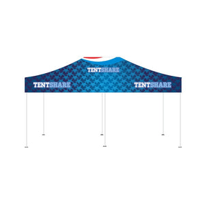 Popup Tent 10x20 Foot Custom Canopy Builder