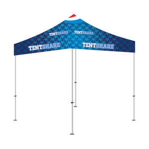Popup Tent 8x8 Foot Custom Canopy Builder
