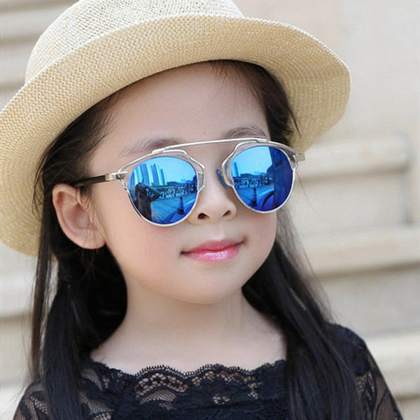 SOZOTU Fashion Children Sunglasses Brand Designer Kids Cute Sun Glasses Boys&Girls Baby Anti-Reflective Oculos de sol YQ177