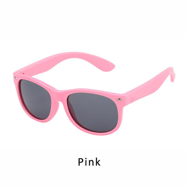 JIANGTUN 12 Color Kids Sunglasses Brand Polarized Safety Boys Girl Design Children Lovely Glasses UV Protection Oculos Infantil