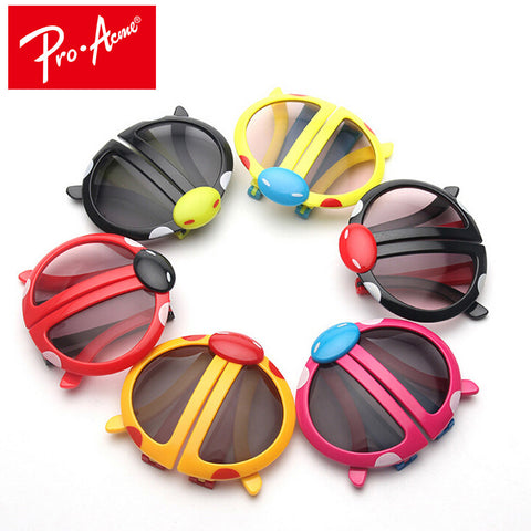 Pro Acme New Kids Sunglasses Fashion Cartoon Style Folding Baby Beetle Kids Sun glasses Children Child Goggles UV400 CC0604
