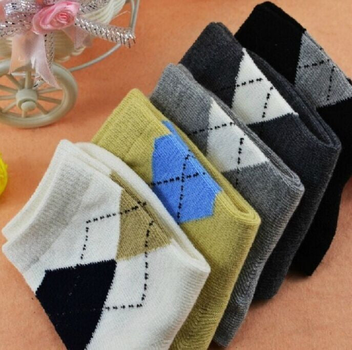 10pairs/lot 2-6 Years old children cotton socks for baby boy socks hot sale autumn winter high quality kid in tube socks