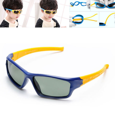 SOZO TU Kids TAC Polarized Goggles TPEE Flexible Safety Frame Cool Boy Girl Fashion Sun Glasses Children Shades Oculos De Sol