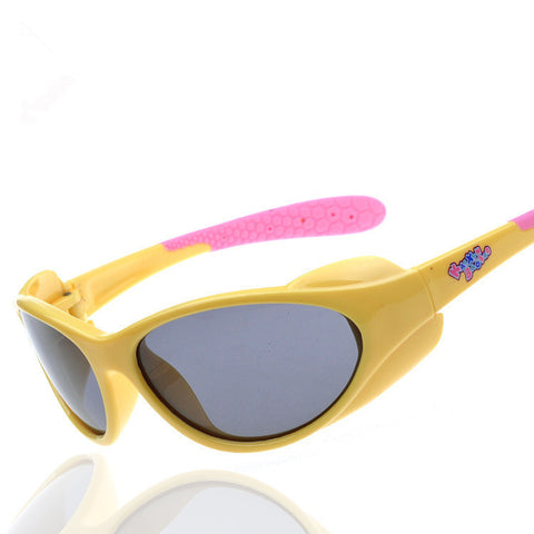 Chashma Colorful Gilrs and Boys 3-12 Years Old Kids Sun Glasses TR 90 Frame TAC Polarized Lenses Quality Children Sunglasses