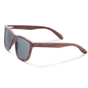 Benham-Walnut Wood Sunglasses
