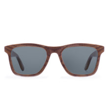 Load image into Gallery viewer, Benham-Walnut Wood Sunglasses