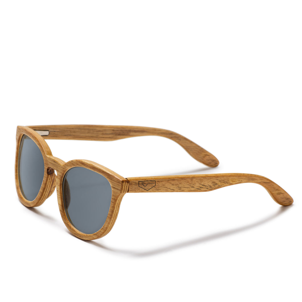 Broadview-Hickory Wood Sunglasses