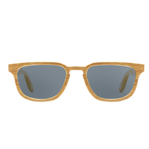 Coal-Hickory Wood Sunglasses