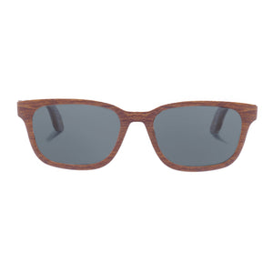 Ramsey-Walnut Wood Sunglasses