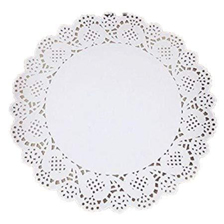 JoyGlobal Paper Lace Doilies Liner - Diameter 9.5 INCHES(Art.J-240) - JoyGlobal.in