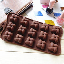 Load image into Gallery viewer, Joy Global Silicone Knot Chocolate Molds Cake Moulds Jelly Ice Mould