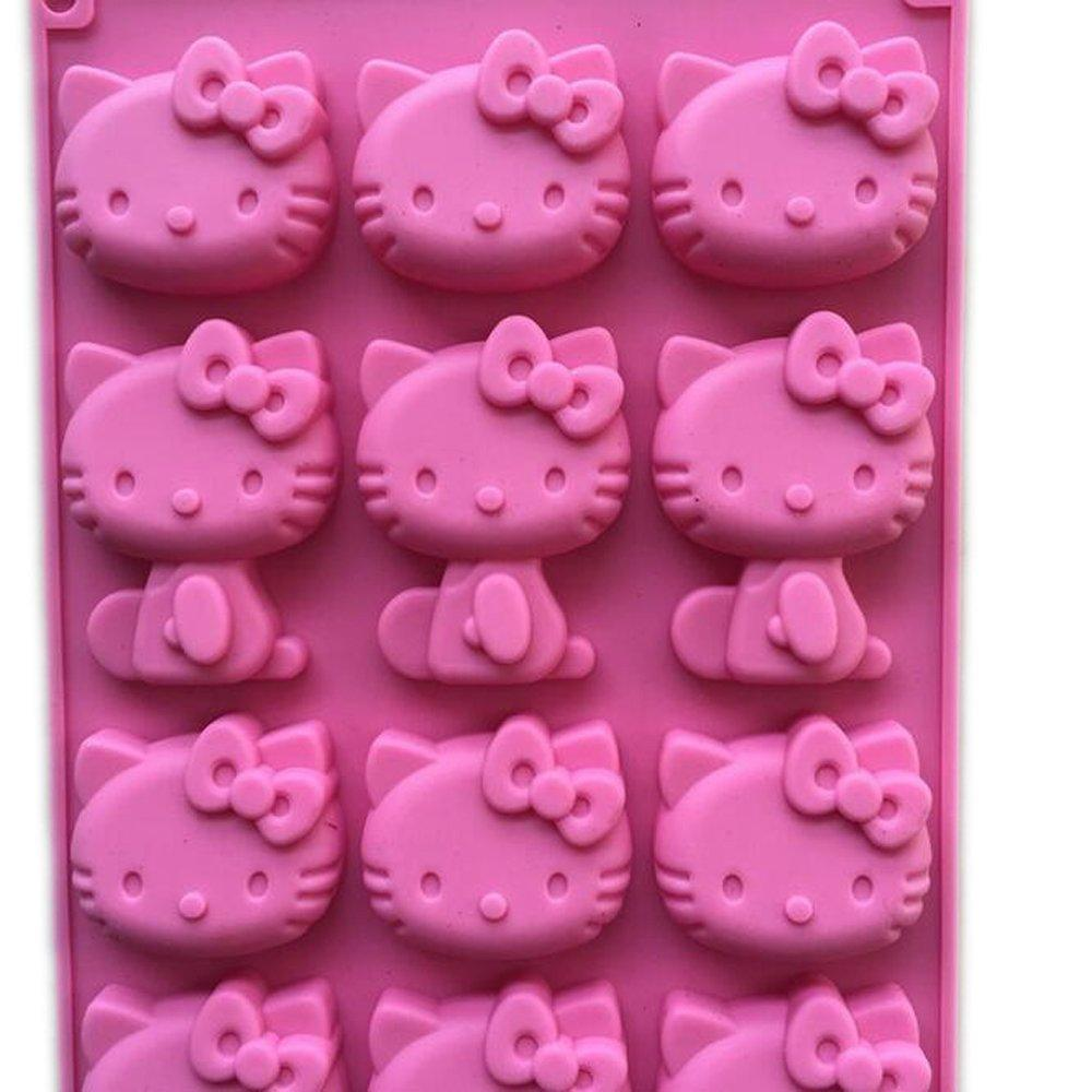 JoyGlobal 15 Cavity Hello Kitty Silicone Chocolate Mould - JoyGlobal.in