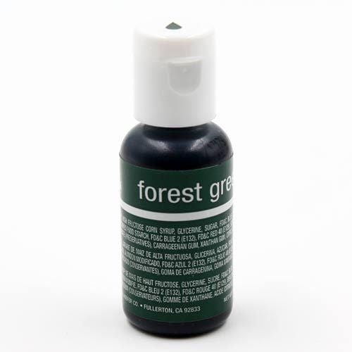 Chefmaster Edible Food Liqua Gel Colour - FOREST GREEN - JoyGlobal.in